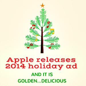 chicago marketing company Apple holiday ad image