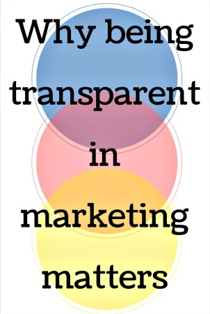 importance of transparent marketing image