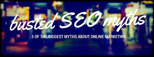 busted SEO myths image