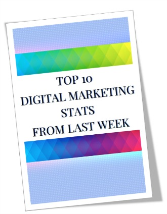 top 10 digital marketing stats from last week image