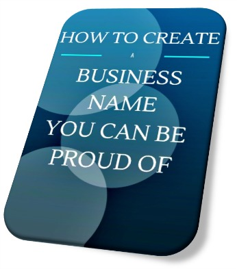 how to create a business name image